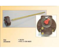 Термостат для водонагревателя  RTS3 300 70/83°C (16A-250V), с термозащитой, заменаWTH412UN, 3412059, 691224, 181351, 181337, MTS-691214 181385