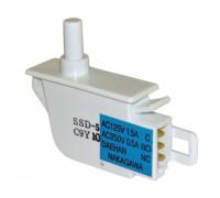 Кнопка света для холодильника  SAMSUNG, одинарный, имеет 3 контакта подключения  DA34-10108K DA34-10108K