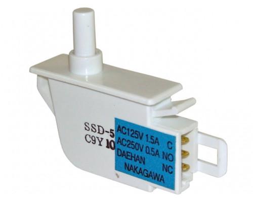 Кнопка света для холодильника  SAMSUNG, одинарный, имеет 3 к...