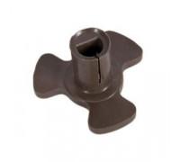 Коплер мотора тарелки (поддона) для микроволновых печей низкий H-17 mm 9999990030