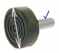 Ножка СМА, (M10 H45mm), зам. 03AG103 LFT001UN