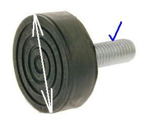 Ножка СМА, (M10 H45mm), зам. 03AG103...