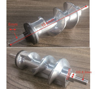 Шнек мясорубки Moulinex 4 гранник большой HV8 (L-154mm, d-8/8.5/10mm), зам. ss-193513un MM0419Lw