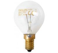 Лампа освещения для духовки 230В / 40Вт / E14 /300°C; зам. 00157314, 00154508, 00060297, 00072176, 00172920 A057874