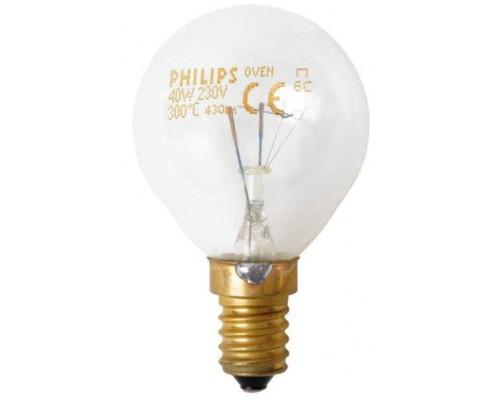 Лампа освещения для духовки 230В / 40Вт / E14 /300°C; зам. 0...