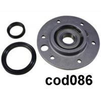 Суппорт в сборе на вертик.(подш 204, с зеркалом) Bosch-00480138, 00263427, зам. SPD002BO cod086