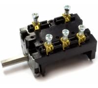 Переключатель Gottak T150 7LA 840511k, 250V, 25A, 6-поз., шток-23mm. COK313UN