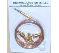 Термопара L-1500mm, универсальная, зам. WC255, CU6314 MC1302JLw