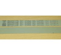Ремень 1225 H7_EL, <1155mm> белый MEGADYNE, зам. WN274 BLH314UN