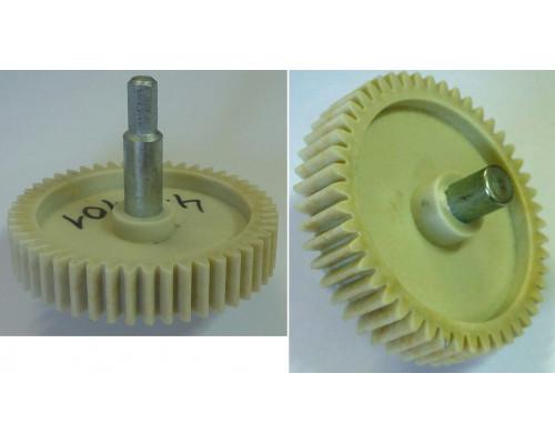Шестерня с метал.валом шестигр.-8mm, D=84/20/12mm, H77/35/17...