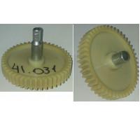 Шестерня с метал.валом шестигр.-8mm, D=83/19/12mm, H70/31/13, зуб-46шт(прямые), Vitek/Scarlett z41.031-VT