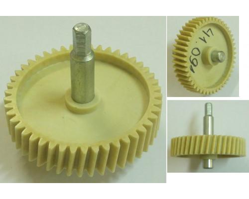 Шестерня с метал.валом шестигр.8mm, D=81/20/12mm, H72/30/18,...