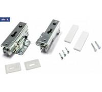 Петли двери встроенного холодильника SKL (коппл.-2шт), замена DHF204WH, 480131100321, 480131100322, 481231018672 DHF200WH