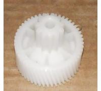 Шестерня мясорубки Moulinex белая, HV2/HV4, (D=42/17, H=39/h19, зубья 11прям 50косые), зам. MM0361W MSHV2