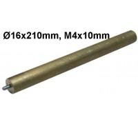 Анод магн.D16x210mm M4x10mm WTH322UN