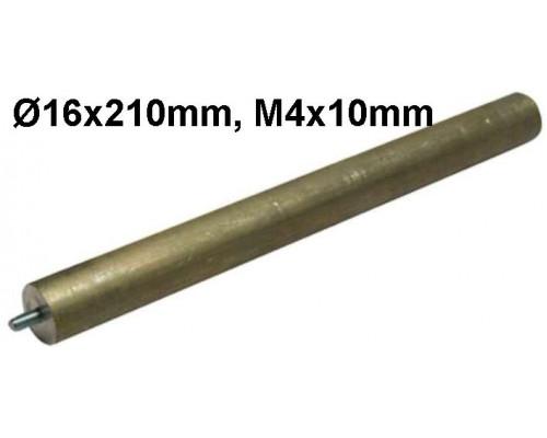 Анод магн.D16x210mm M4x10mm...
