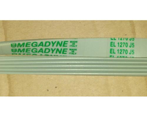 Ремень 1270 J5_EL, бел. ДЛИНА<1195mm> megadyne...