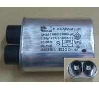 Конденсатор на СВЧ 0.9мкФ - 2100В BiCai 12AG099