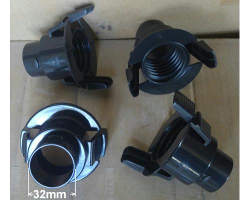 Фитинг для шланга пылесоса Samsung D-32mm замена FS32un (ана...