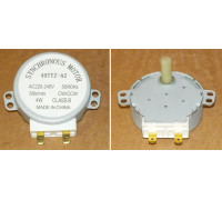Мотор поддона СВЧ, (шток H=17mm, пласткик) 49TYZ-A2, 4W, 5/6 r/mim, 220V, зам. MCW501UN H083