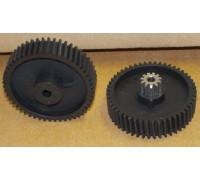 Шестерня мясорубки Moulinex MS-5564244, (железная в середине), зам. 9999990051 MS008