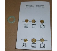 Набор жиклеров на баллонный газ (50, 72 - 3шт, 79, 87) b4431910023
