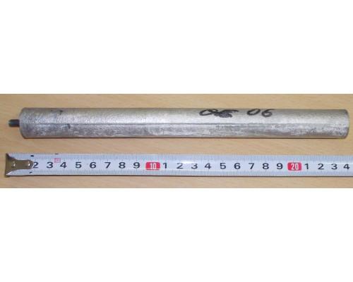 Анод магн.D21 L230mm M5x10mm, замена WTH308UN, (MTS-818813, ...