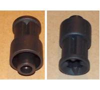 Переходник насадок (втулка мотора) BRAUN 4191-4192-4193-4194, зам. 7322113974, (27.10-BRN) N077