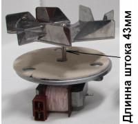 Вентилятор обдува духовки 30w, H20mm, L43mm, Rpm1600 16mf05