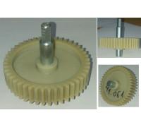 Шестерня с метал.валом шестигр.-8mm, D=78/19/12mm, H73/35/17, зуб-44шт(прямые), Panasonic z41.061-PN