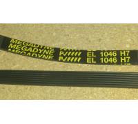 Ремень 1046 H7_EL <1012mm>, зам.(Merloni-064598), BLH025UN WN709