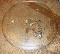 Тарелка_СВЧ 318mm (с крепл.2руб.)SAMS-DE74-20015B, DE74-20015G, зам. 95PM013 95pm11