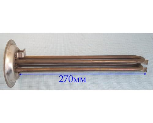 Тэн для водонагревателя 1500W (750W+750W)  Фланец 92mm (НЕРЖ...