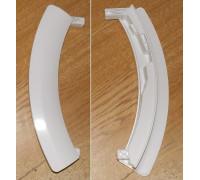 Ручка люка белая Bosch-00751790, (WL257- серебристая) WL255