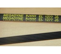 Ремень 1277 J5_EL, черн.<1230mm> megadyne, зам. BLJ518UN WN906