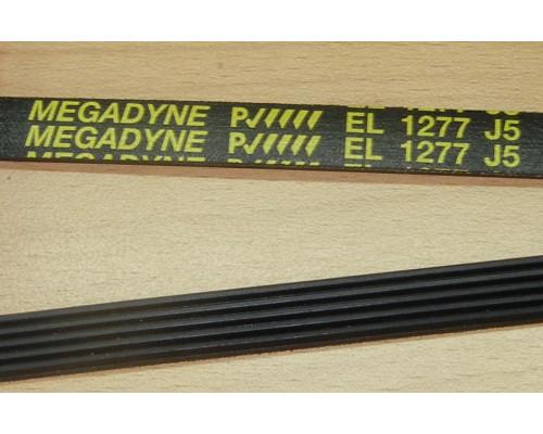 Ремень 1277 J5_EL, черн.<1230mm> megadyne, зам. BLJ518...