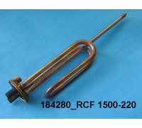 Тэн для водонагревателя 1500w-220v RCF TW PA анод-M6 (под фланец)Thermowatt, зам.WTH002UN, 816707, 816765, 65111790 ТВН-10