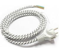 Провод для утюга 1.9mt SCHUKO, зам. M086 IRN900UN