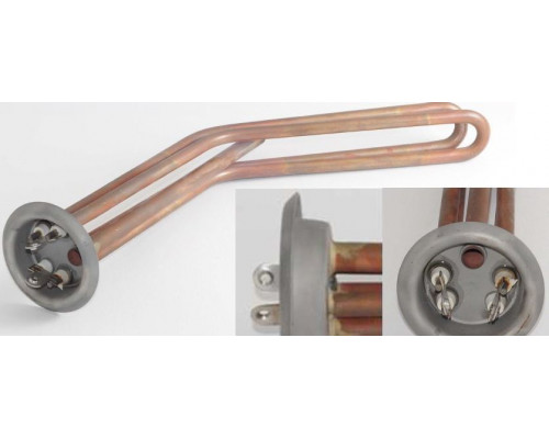 Тэн для водонагревателя RF+64/16.5 GOR 1000+1000W-220V, МЕДЬ...