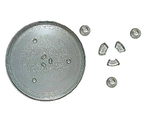 Тарелка СВЧ SAMS 345mm (с крепл.2руб.), DE74-20016A, зам. 95...