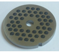 Решетка мясорубки Moulinex средняя HV8, D62mm, H=6, отв.-5/d=9mm SS-193514un