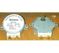 Мотор вращения поддона СВЧ SM-16T, Galanz 21V 3W 5/6rpm, пластиковый шток MM021V03