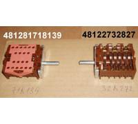 Переключатель мощности конфорок 46.27266.813,, замена. 013413, 93756641u, 481227328272, 481281718139  C00377879