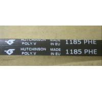 Ремень 1185 H7_PE, черн. <1109mm> Hutchinson, зам. 1326721105 BLH137UN