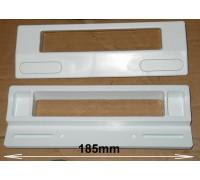 Ручка двери хол, унив.КРЕПЕЖ 188x65mm, MIN-95mm, MAX-170mm 35FR135