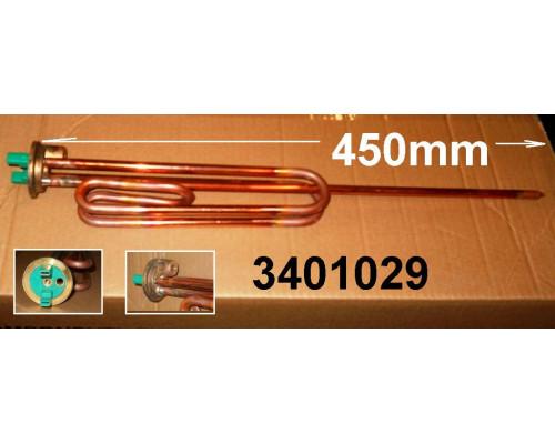 Тэн для водонагревателя 2200w-230v RCF 450 RH PA анод-M8 (по...