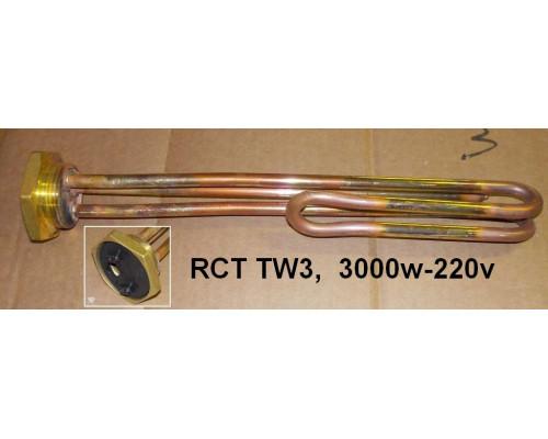 """Тэн для водонагревателя 3000w-220v RCT TW3 C (резьба 1""""1/4)T..."""