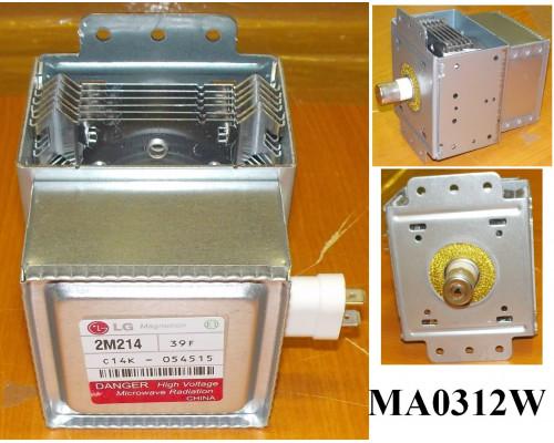 Магнетрон СВЧ LG (2M214-01TAG), >БЕЗ НАКЛЕЙКИ, зам. 2M214...