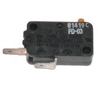 Микровыключатель микроволновой печи Samsung 125/250 VAC, 16A 3405-001034