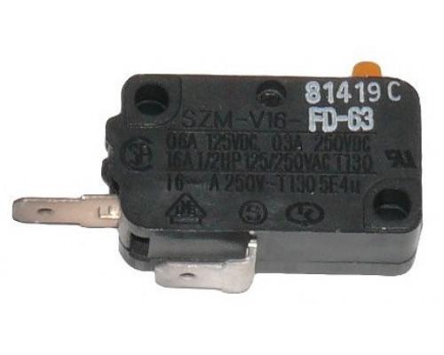 Микровыключатель микроволновой печи Samsung 125/250 VAC, 16A...